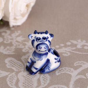 """Сувенир """"Плут"""", синий, 5,5 см гжель 4883788"""