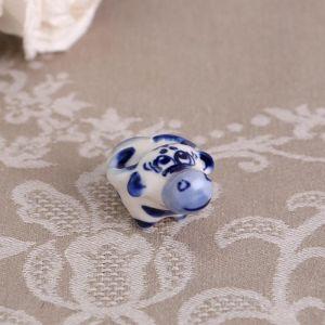 "Сувенир ""Рога"",синий,5 см, гжель 4883793"