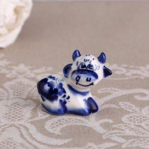 """Сувенир """"Толик"""",синий,5 см, гжель 4883795"""