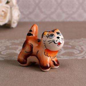 Сувенир  «Котик Васька», рыжий 4875507