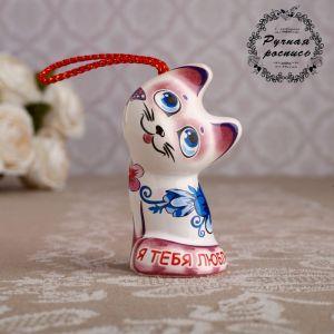 """Сувенирный колокольчик """"Котёнок. Любовь"""", 6 см   4748733"""
