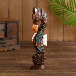 "Сувенир ""Морской конь"" дерево 11х5,5х30 см   4575494"
