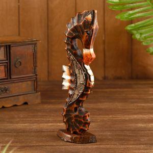 "Сувенир ""Морской конь"" дерево 11х5,5х30 см   4575501"