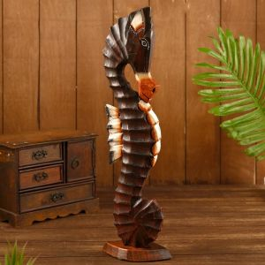 "Сувенир ""Морской конь"" дерево 15х9х50 см   4575497"
