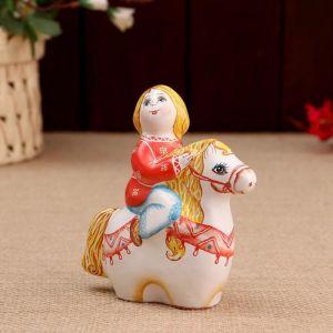 Сувенир «Мальчик на коне», 12 см 4880152