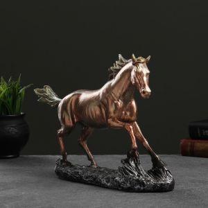 "Фигура ""Конь бегущий"" бронза, 32х22см   4763772"
