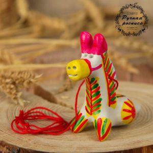 Филимоновская игрушка - свисток «Лошадь» 2818861
