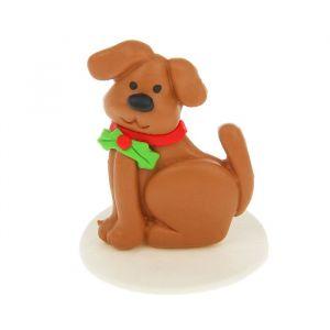 "Сувенир полимерная глина ""Собака Шери"" 4,3х4,5 см 2296171"