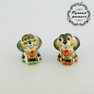 "Сувенир Собака ""Пикси"", гжель,цвет 2148584"