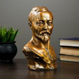 Бюст Дзержинского Ф.Э., бронза 17х24см   4203384