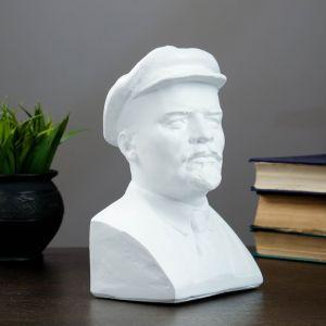 Бюст Ленина, белый 13,5х21,5см   4197408