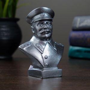 Бюст Сталин малый 10см металлик   4295710