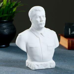 Бюст Сталин, большой 16см / мраморная крошка   4603264