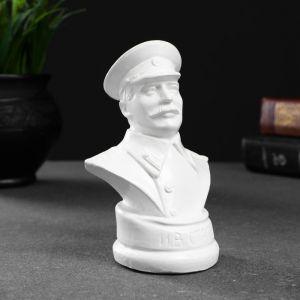 Бюст Сталина белый, 12х7,5см 4877846
