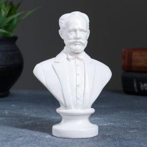 Бюст Чайковский 13,5 см, белый 1841255