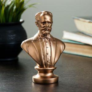Бюст Чайковский 13,5 см, бронза 1841256