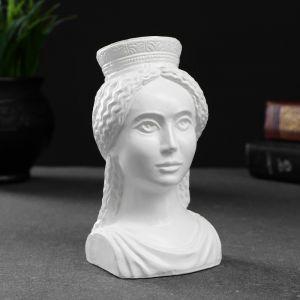 """Фигура """"Богиня Тэхе (Судьба)"""" белая 12х10см 4877844"""
