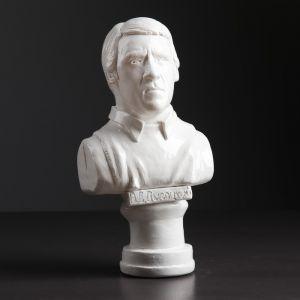 """Статуэтка-бюст """"Высоцкий В.С"""" , белая, 22 см"""