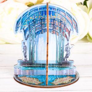 Настольный сувенир 3D «Тюмень. Фонтан»