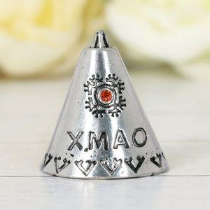 Фигурка «ХМАО. Чум», под черненое серебро