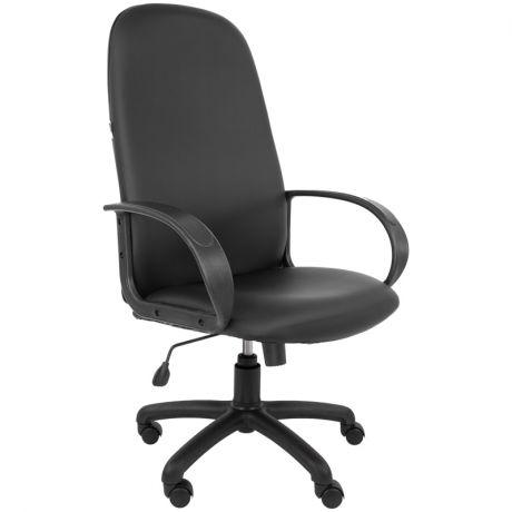 Кресло руководителя Русские кресла 179, экокожа черная, механизм качания