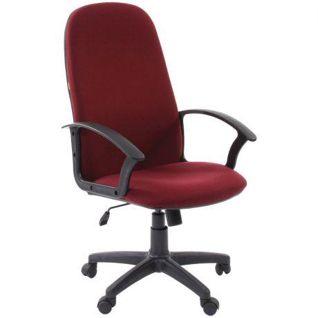 Кресло руководителя Chairman 289NEW PL, ткань бордо