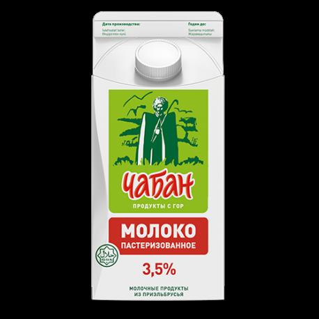 """Молоко """"Чабан"""" 3,5% , 1,5л, п/уп"""
