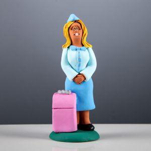 """Статуэтка """"Стюардесса"""", 20 см, микс, керамика"""