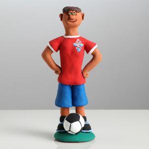 "Статуэтка ""Футболист"" 19 см, микс"