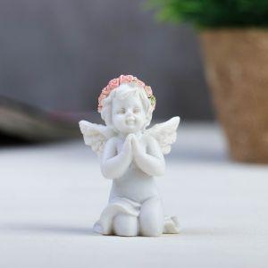 "Сувенир ""Ангел в венке из роз в молитве"", МИКС"