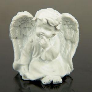 "Сувенир полистоун ""Белоснежный ангел"" МИКС 4х4х2,5 см 2258908"