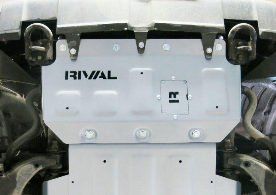 Усиленная защита алюминиевая Rival для радиатора Toyota Tundra 2007-2018