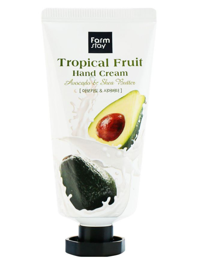 FarmStay крем для рук с авокадо и маслом ши Avocado & Shea Butter Tropical Fruit Hand Cream