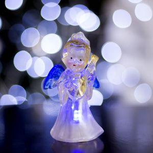 """Игрушка световая """"Ангел с гитарой"""" (батарейки в комплекте) 1 LED, RGB, цветной 1353349"""