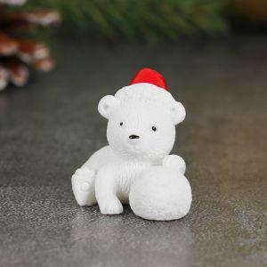 Миниатюра кукольная «Мишка в копачке», набор 2 шт, размер 1 шт: 3?2,5?3,5 см