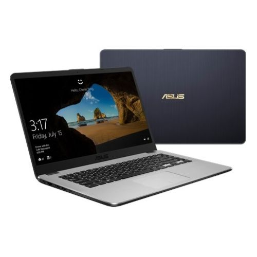 "Ноутбук ASUS VivoBook X505ZAТемно-Серый  (Ryzen 3 2200U/4Gb/SSD 256Gb/Radeon Vega 3 Graphics/15,6""/HD BT Cam/Win10)"