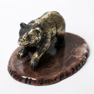 """Настольный сувенир """"Мишка"""", 5,3 см ? 7,5 см 4723671"""