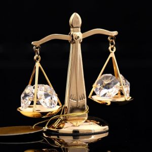 Сувенир «Весы», 7?4?7 см, с кристаллами Сваровски 247823