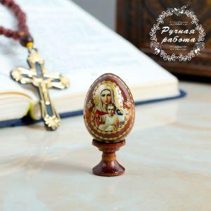 "Яйцо сувенирное ""Аз есмь"", на подставке 4126809"