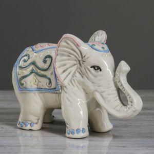"""Статуэтка """"Слон №7"""" узор, 13 см"""