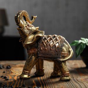 """Статуэтка """"Слон"""" бронза, 23 см"""
