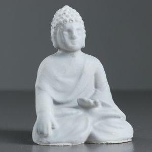"Фигура ""Фигура Будды"" серая 10х7,5х5,7 см   4417029"