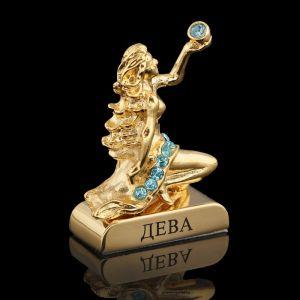 Сувенир знак зодиака «Дева», 5?2?5 см, с кристаллами Сваровски 798555