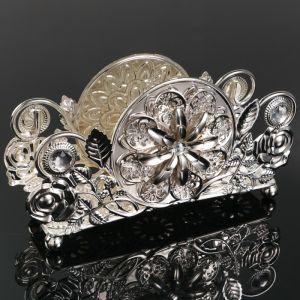 Салфетница «Ажур», 17?5?9 см, с кристаллами Сваровски   4552525