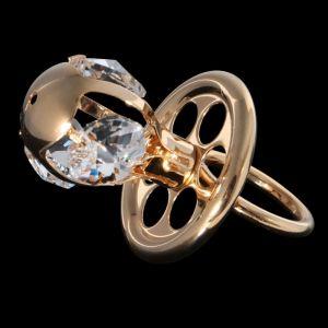 Сувенир «Соска», 6?3,5?3 см, с кристаллами Сваровски 445457
