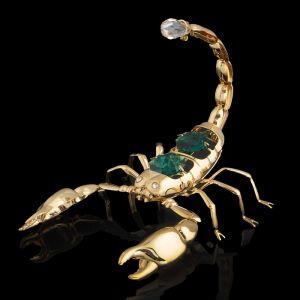 Сувенир «Скорпион», 9?7?6 см, с кристаллами Сваровски 692718