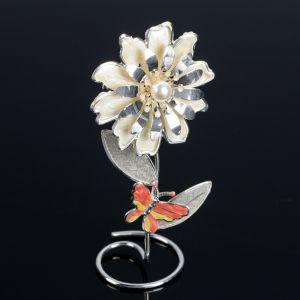 """Сувенир """"Цветочек с бабочкой""""   4740818"""