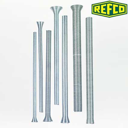 Набор пружинных трубогибов Refco BS-77