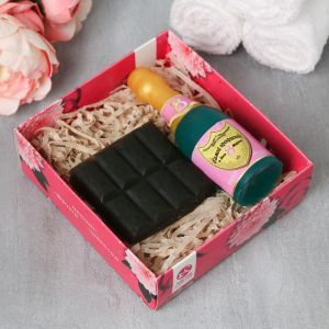"""Набор """"С праздником весны"""" мыло шампанское, мыло шоколад   4632561"""