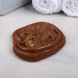 Натуральное мыло ручной работы «Мамонт», 70 гр